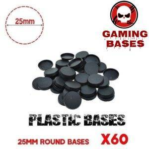 20Pcs 50mm miniature round bases forge world warhammer 40k 50mm