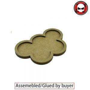 Gaming bases 5 x 32mm round movement Tray derangements Shape Movement Tray Round 32mm distance: 0mm