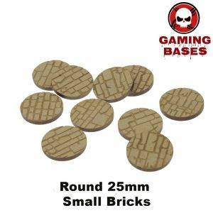 MDF-25-32-40mm Rough/Small Rock Wall Bricks Texture bases-Laser Cut MDF BASES MDF Texture Warning: KEEPAWAYFROMWATER