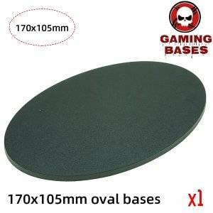 Gaming bases 170 x 105mm oval base for warhammer 40k 170x105mm color: 1|10|20|5