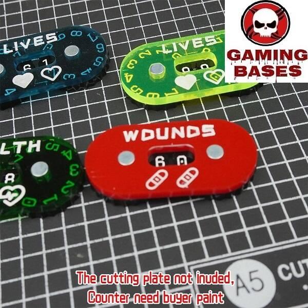 Gamingbases World – Wound Counter/Tracker/Dial/Marker 00-99- 4sets 20mm-00-99 color: Black|DarkBlue|fluoDarkorange|fluoGreen|fluoOrange|fluoRed|fluoYellow|FruitGreen|Green|Grey|LightBlue|RandomColor|Red|TransparentDarkBlue|TransparentGlass|TransparentGreen|TransparentGrey|TransparentLakeBlue|TransparentLightBlue|TransparentOrange|TransparentPuple|TransparentRed|TransparentYellow|TranspMoreLightBlue|Yellow