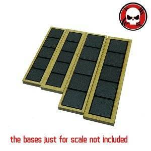 Gaming Base wargame Movement Tray 20mm bases with 3mm edge Square 20mm color: othersize|W3D1|W3D2|W3D3|W4D1|W4D2|W4D3|W4D4|W5D1|W5D2|W5D3|W5D4|W5D5|W6D1|W6D2|W6D3|W6D4|W6D5|W6D6|W7D1|W7D2|W7D3|W7D4|W7D5|W7D6|W7D7|W8D1
