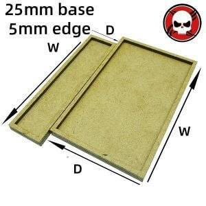 Gaming Base wargame Movement Tray 25mm bases with 5mm edge Square 25mm color: othersize|W3D1|W3D2|W3D3|W4D1|W4D2|W4D3|W4D4|W5D1|W5D2|W5D3|W5D4|W5D5|W6D1|W6D2|W6D3|W6D4|W6D5|W6D6|W7D1|W7D2|W7D3|W7D4|W7D5|W7D6|W7D7|W8D1