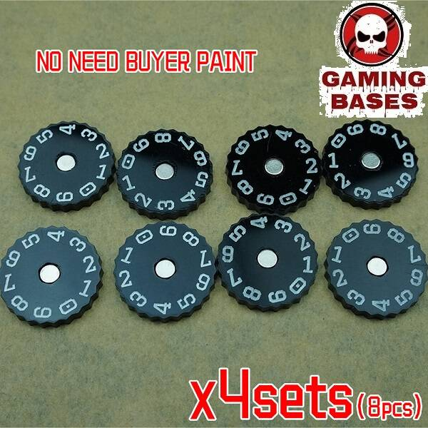 GamingBases World 20mm-00-99 Color: Black